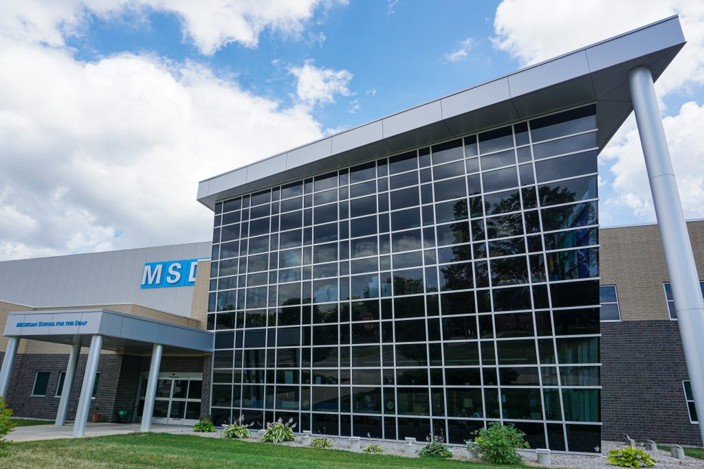 Michigan School for the Deaf Renovation by Siwek Construction, a commercial construction commercial contractor and construction management firm specializing in steel buildings by butler buildings, design build, general contracting, and construction management
