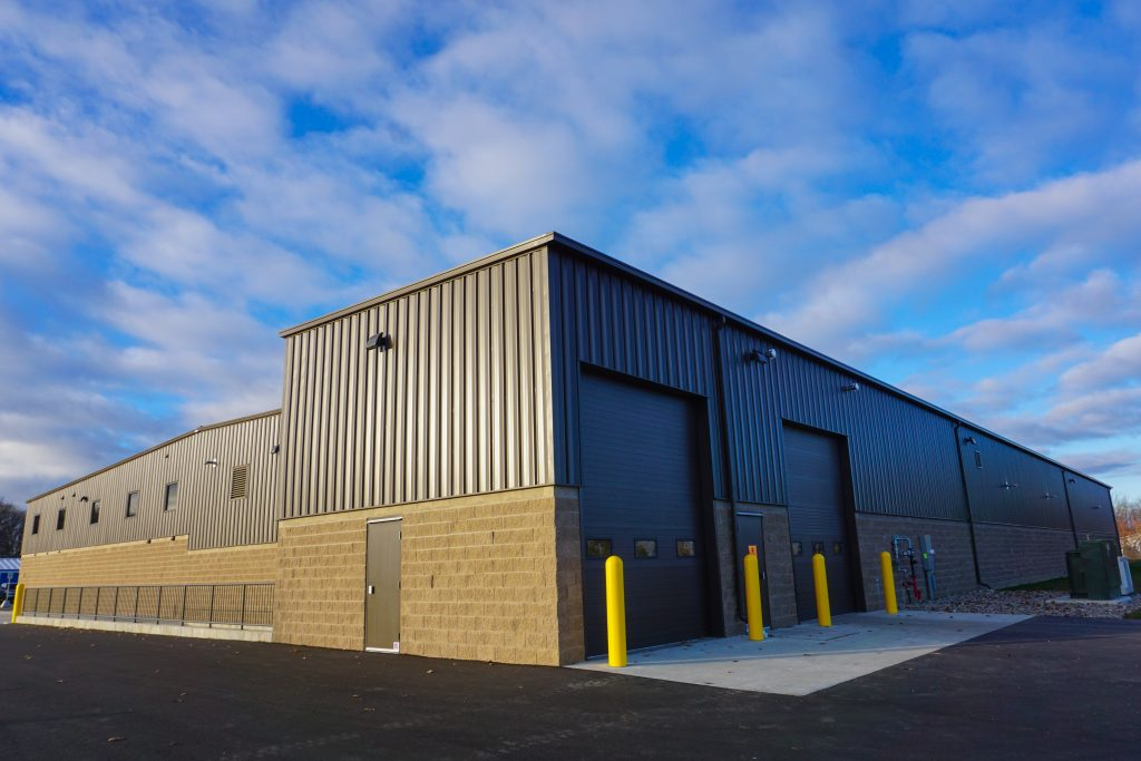 finished pre-fabricated steel buildings by Siwek Construction, a commercial construction commercial contractor and construction management firm specializing in steel buildings by butler buildings, design build, general contracting, and construction management