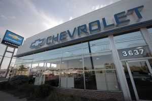 Shea Chevrolet Patsy Lou Chevrolet by Siwek Construction, a commercial construction commercial contractor and construction management firm specializing in steel buildings by butler buildings, design build, general contracting, and construction management