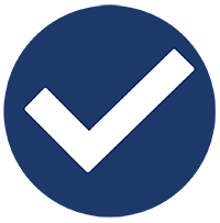 a checkmark for showing the boxes checked off by Siwek Construction, a commercial construction commercial contractor and construction management firm specializing in steel buildings by butler buildings, design build, general contracting, and construction management
