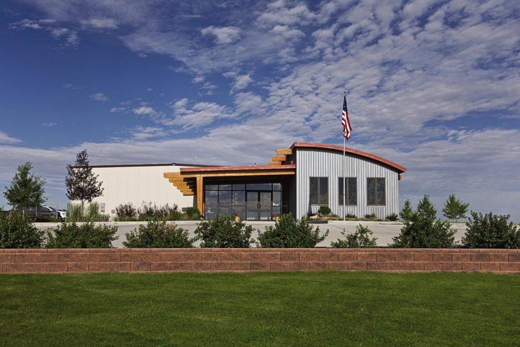 finished pre-fabricated steel buildings by siwek construction using butler buildings pre-fabricated steel